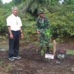 Direktur AKN Aceh Barat Laksanakan Penghijauan Bersama Danrem 012 Teuku Umar