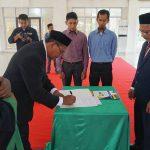 Direktur AKN Aceh Barat Lantik Wakil Direktur Periode 2020-2021
