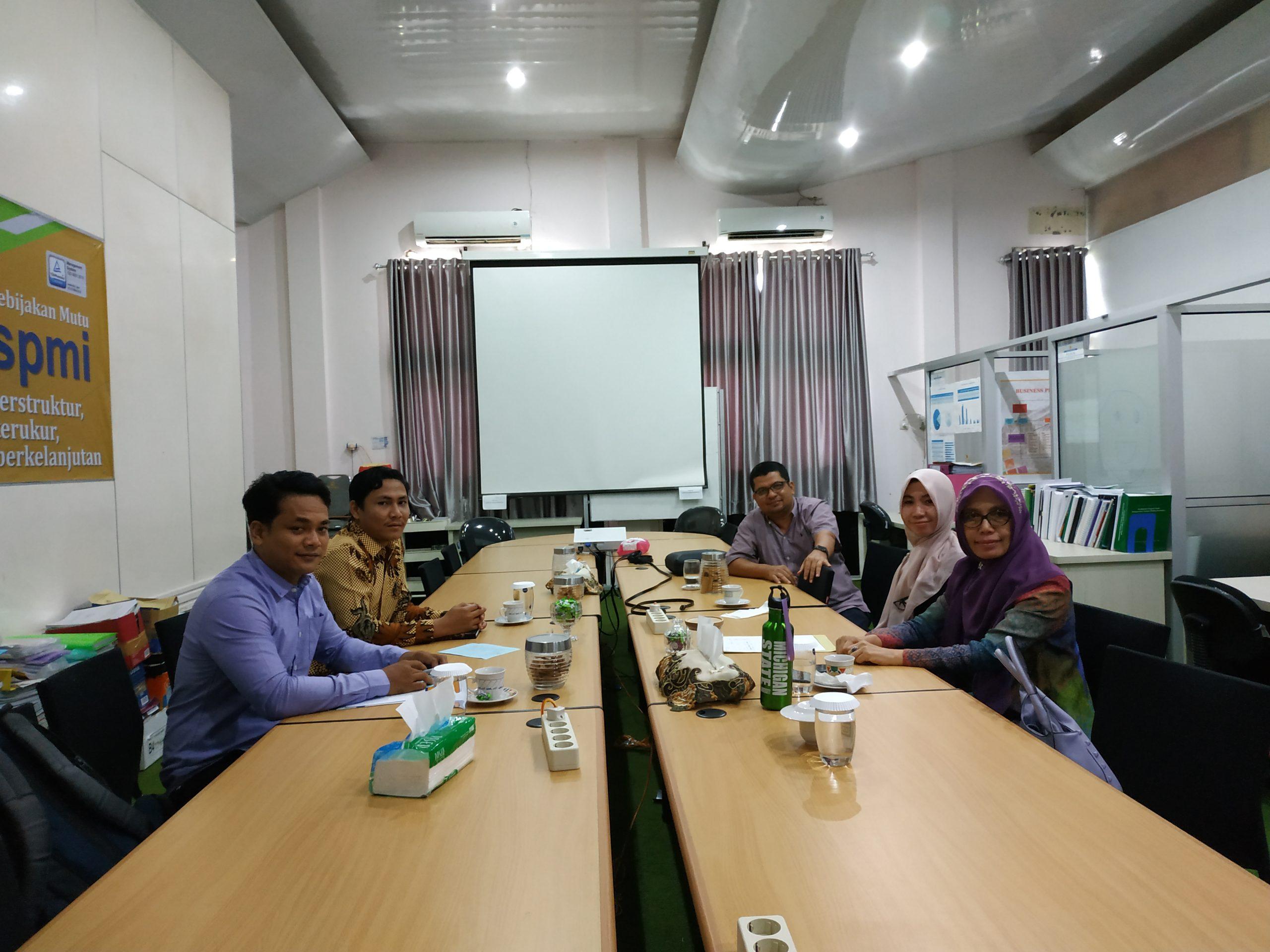 AKN Aceh Barat Membahas Kerja Sama Pelatihan Teknik Instruksional