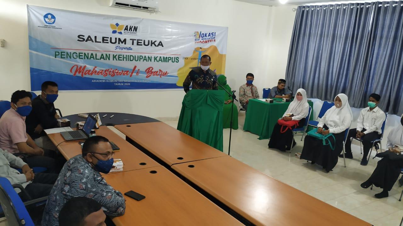 AKN Aceh Barat Perkenalkan Kehidupan Kampus Bagi Mahasiswa Baru