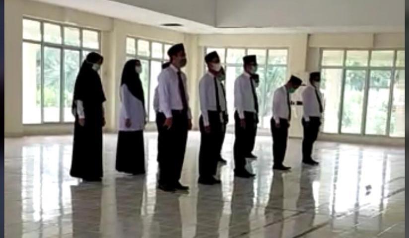 Direktur AKN Aceh Barat Melantik T. Rahmadsyah Sebagai Kasubag Tata Usaha