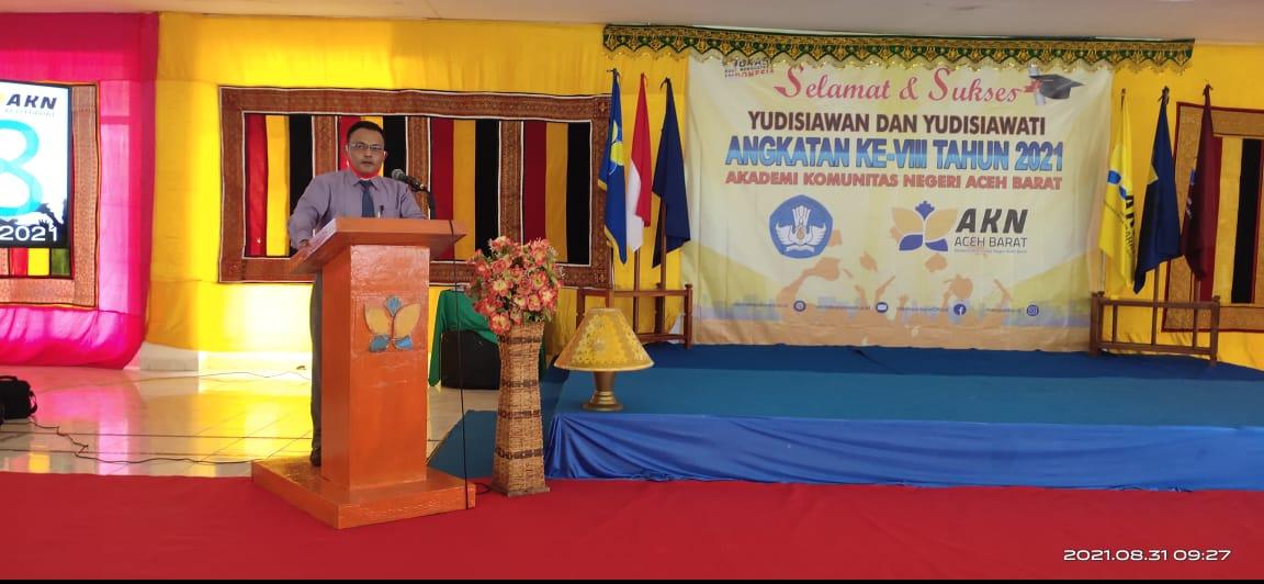 50 Mahasiswa AKN Aceh Barat Diyudisium